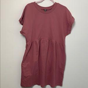 Wild Fable Shirt Dress Pink